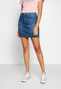 Lee - MID SKIRT - Gonna di jeans - mid bellevue - 0