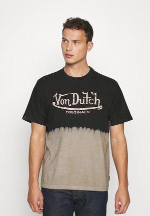 LOAN BLEACH LOGO TEE - T-shirt print - black