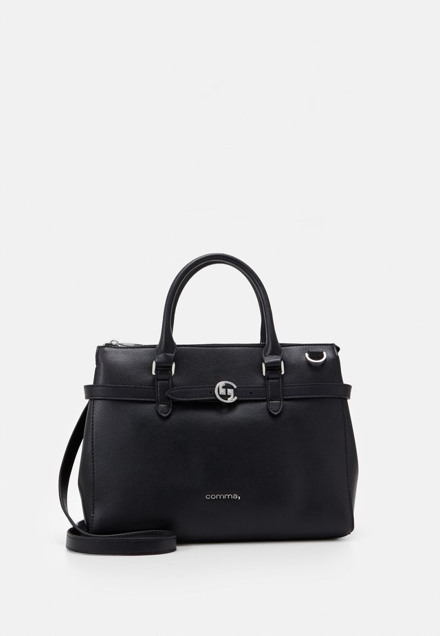 TURN AROUND HANDBAG - Sac à main - black