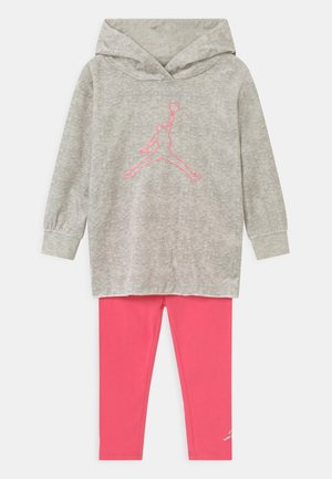 HOODED SET UNISEX - Tracksuit - racer pink