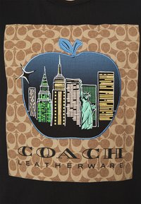 Coach - APPLE SIGNATURE  - Print T-shirt - black - 5