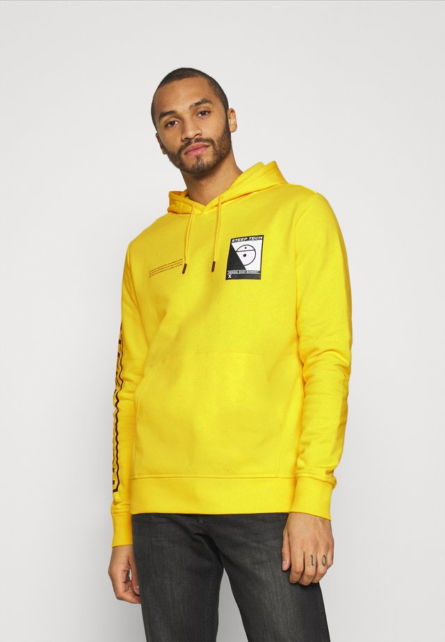 STEEP TECH LOGO HOODIE UNISEX - Hoodie - lightning yellow