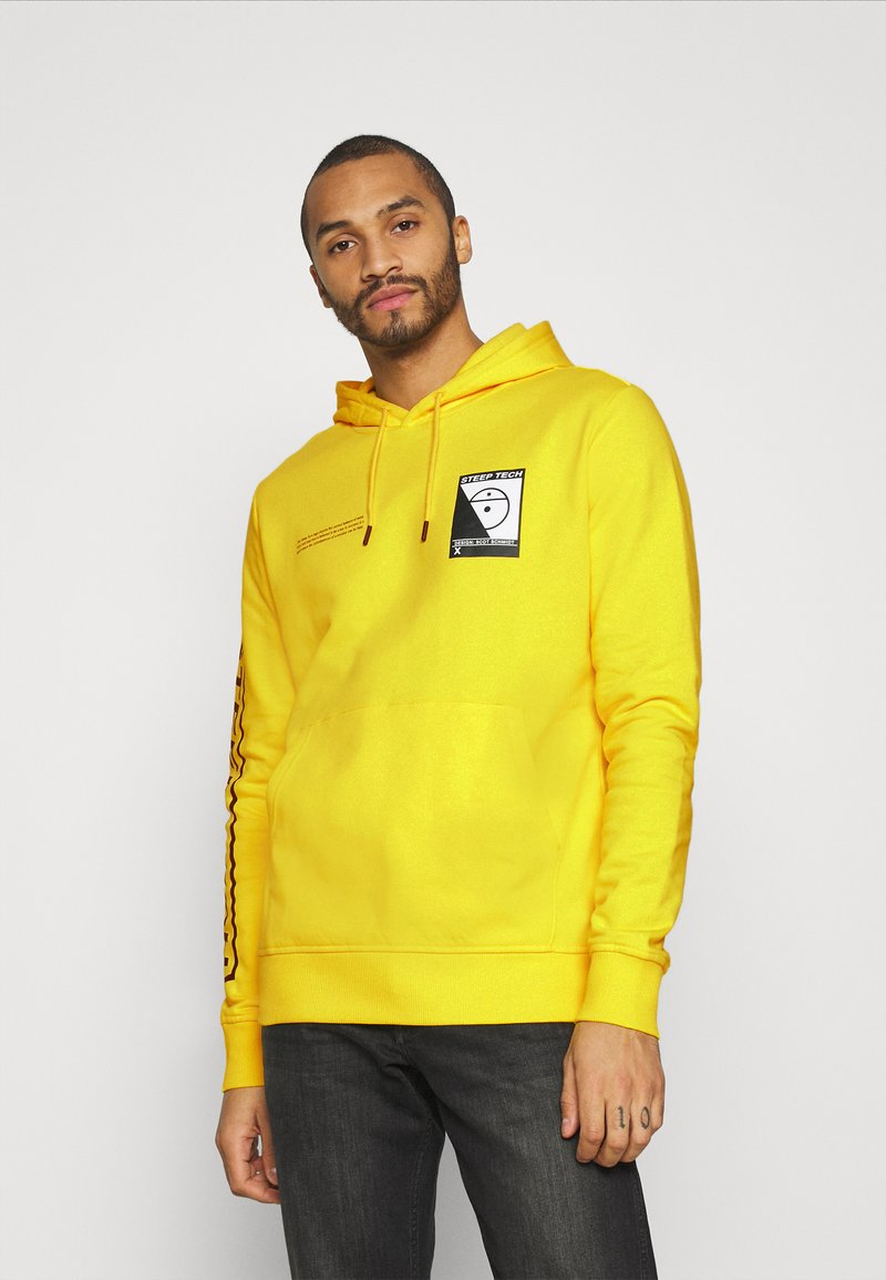 The North Face - STEEP TECH LOGO HOODIE UNISEX - Hoodie - lightning yellow