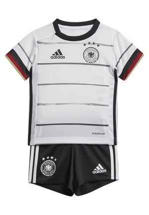 DEUTSCHLAND DFB HEIMTRIKOT BABYKIT - Oblečení národního týmu - white/black