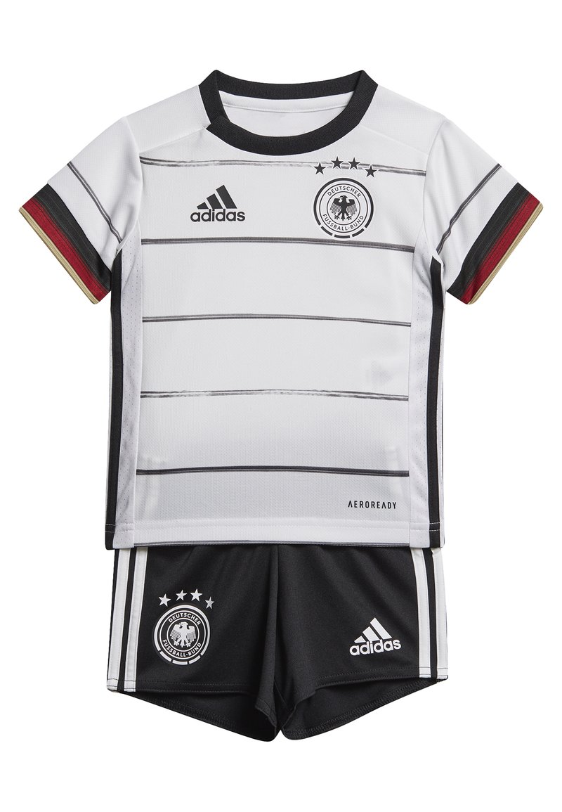 adidas Performance - DEUTSCHLAND DFB HEIMTRIKOT BABYKIT - Pelipaita - white/black