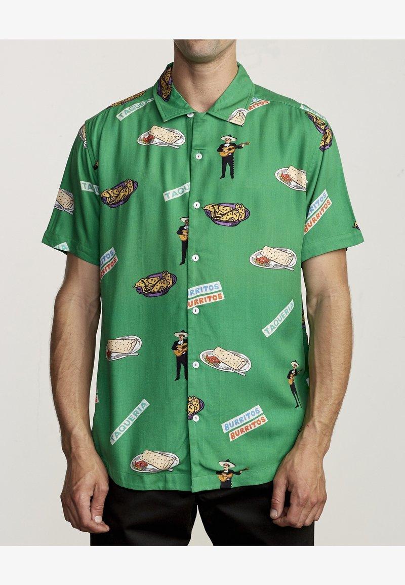 RVCA - HOT FUDGE  - Shirt - vintage green