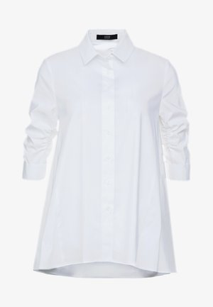 ESSENTIAL FASHION BLOUSE - Button-down blouse - white