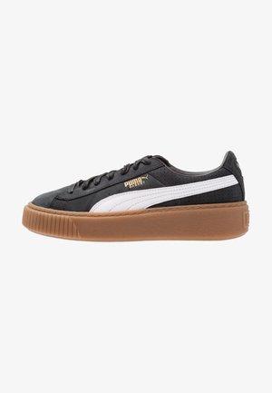 BASKET PLATFORM PERF GUM - Sneakers - black