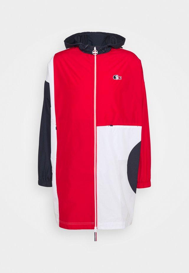 OLYMP JACKETS - Veste de survêtement - navy blue/red/white