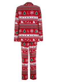 OppoSuits - TEEN BOYS WINTER WONDERLAND SET  - Suit - dark red - 1