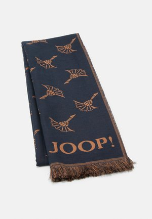 FERIS UNISEX - Scarf - dark blue