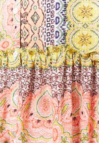 Esqualo - DRESS RUFFLE BORDER PRINT - Day dress - multi-coloured - 2