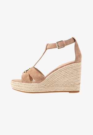 HALE - High heeled sandals - khaki