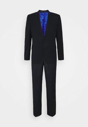 TAILORED FIT BUTTON SUIT SET - Costume - dark blue