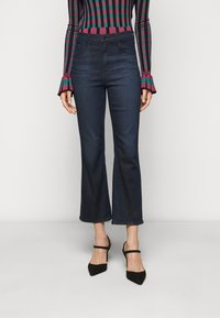 J Brand - FRANKY HIGH RISE CROP BOOT - Bootcut jeans - concept - 0