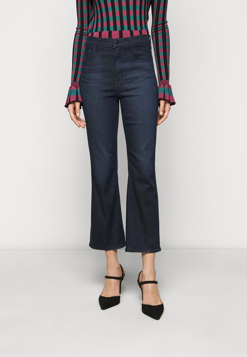 J Brand - FRANKY HIGH RISE CROP BOOT - Bootcut jeans - concept