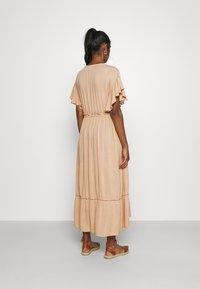YAS - YASFANNI DRESS  - Maxi dress - toasted almond - 2