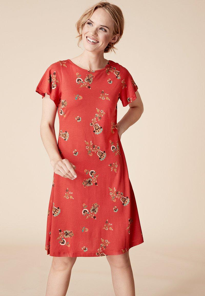 Indiska - Jersey dress - red
