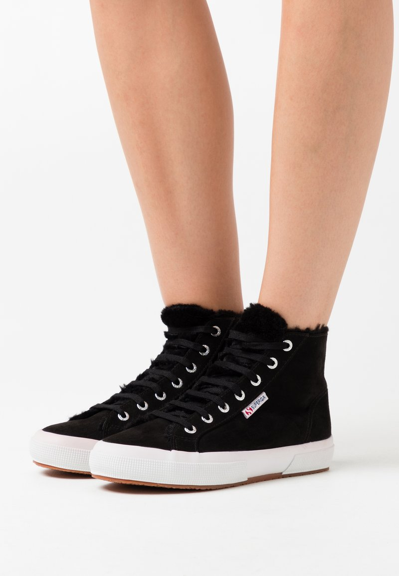 Superga - 2795  - High-top trainers - black