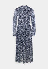 TOM TAILOR DENIM - PRINTED DRESS - Day dress - blue - 0
