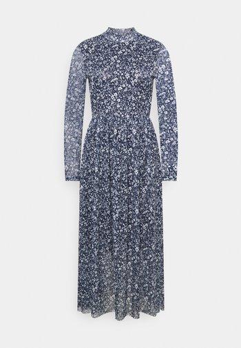 PRINTED DRESS - Day dress - blue