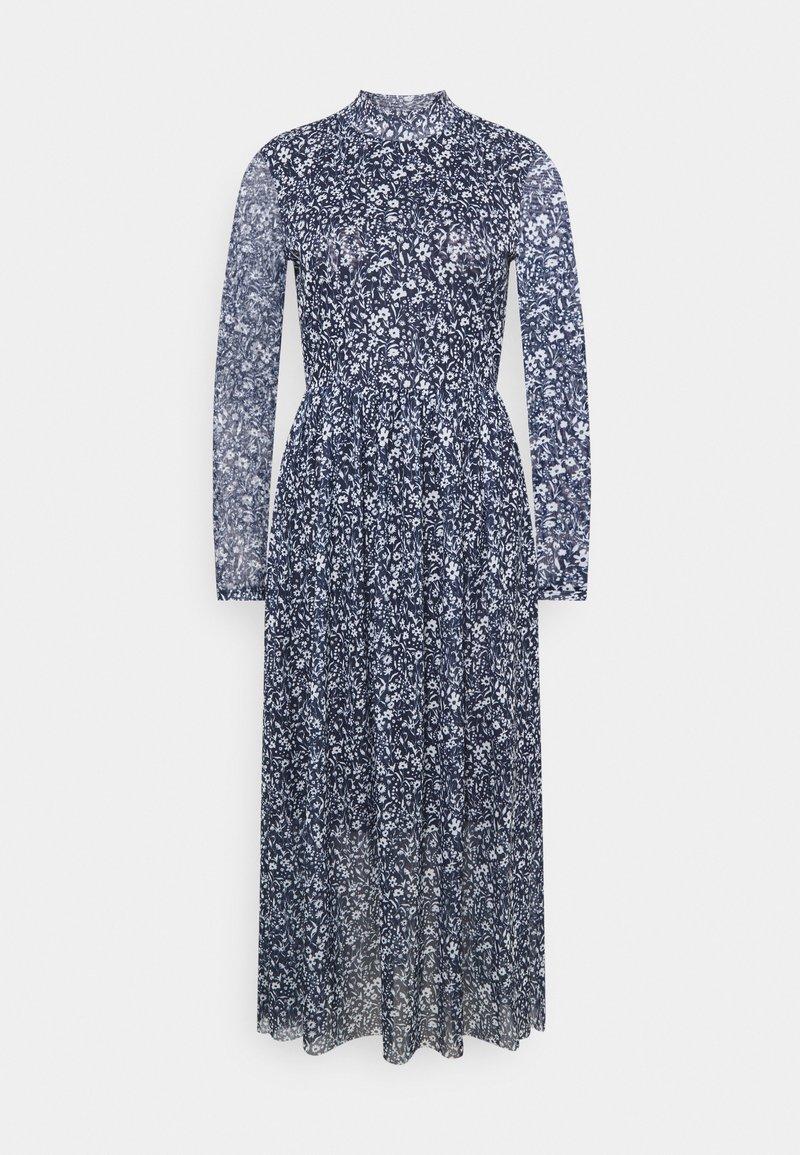 TOM TAILOR DENIM - PRINTED DRESS - Day dress - blue