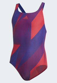 adidas Performance - GIRLS GRAPHIC SWIMSUIT - Maillot de bain - pink