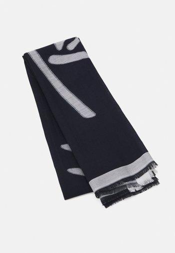 SIGNATURE SCARF - Scarf - blue