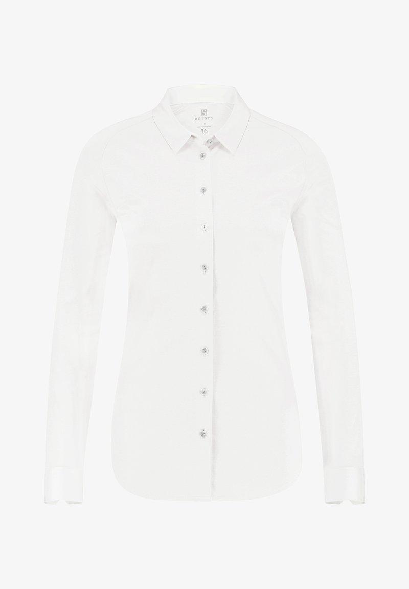 DESOTO - Button-down blouse - white