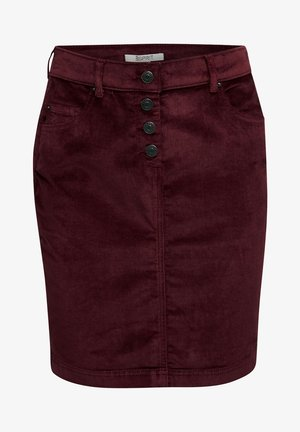PENCIL SKIRT - Pencil skirt - bordeaux red