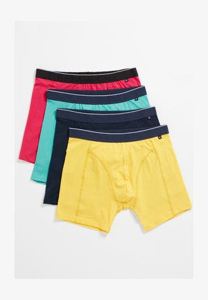 4-PACK - Pants - turquoise yellow red