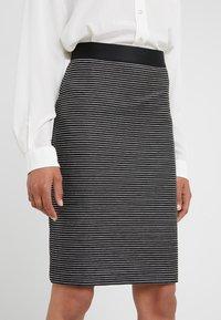 HUGO - NIFANI  - Pencil skirt - black - 4
