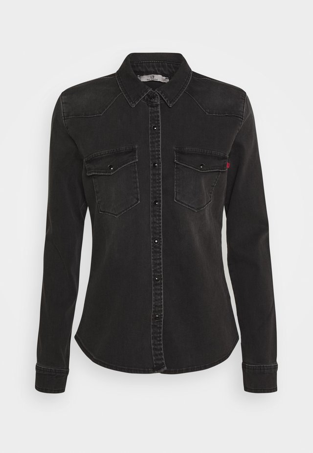 LUCINDA - Chemisier - black denim