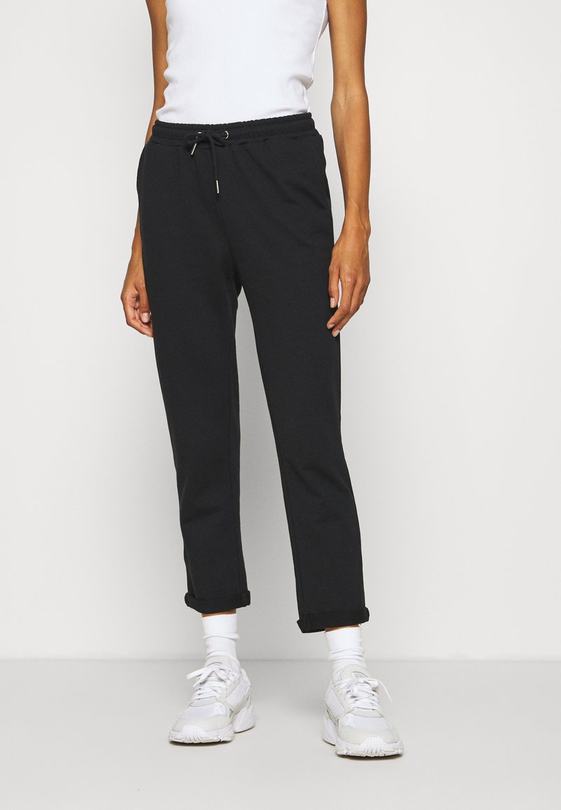 Anna Field - Tapered Joggers - Tracksuit bottoms - black