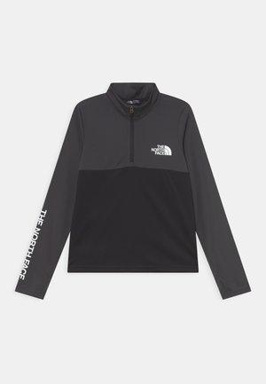 REACTOR THERMAL ZIP - Sports shirt - asphalt grey