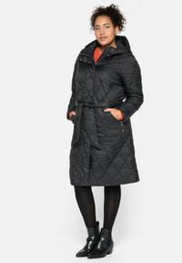 Sheego - Winter coat - schwarz - 1
