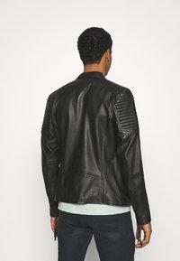 Tigha - TALON - Leather jacket - black - 2