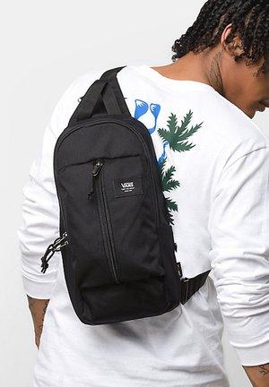 MN WARP SLING BAG - Olkalaukku - black ripstop