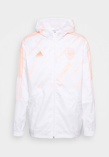 ARSENAL LONDON WINDBREAKER - Training jacket - white