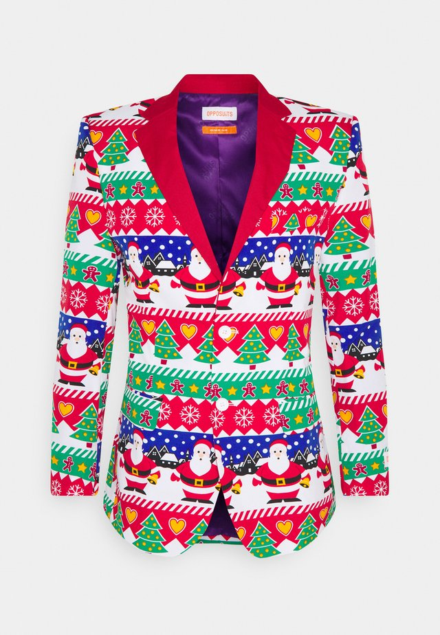 SNAZZY SANTA - blazer - multicoloured