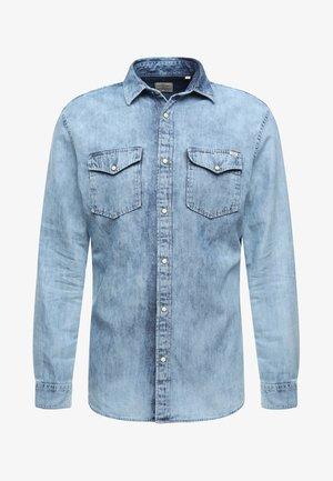 JJESHERIDAN SLIM - Camisa - white denim