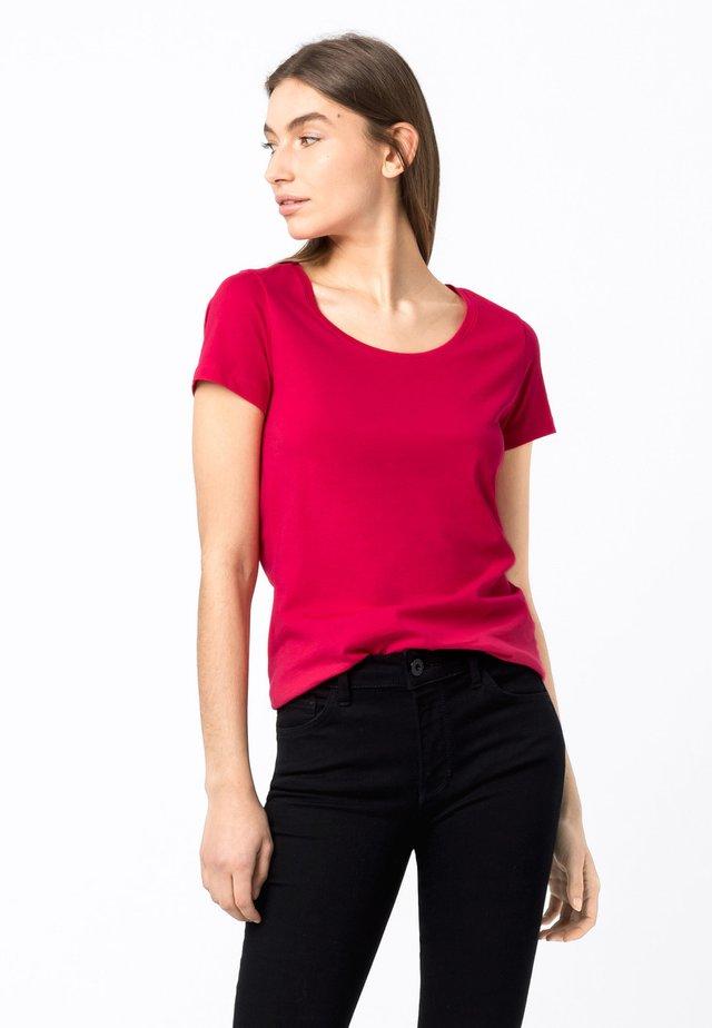 T-shirt basic - cyclam