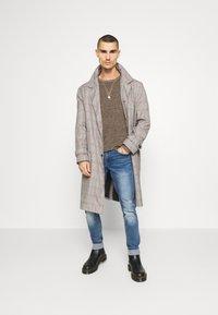 Redefined Rebel - STOCKHOLM DESTROY - Slim fit jeans - nova blue - 1