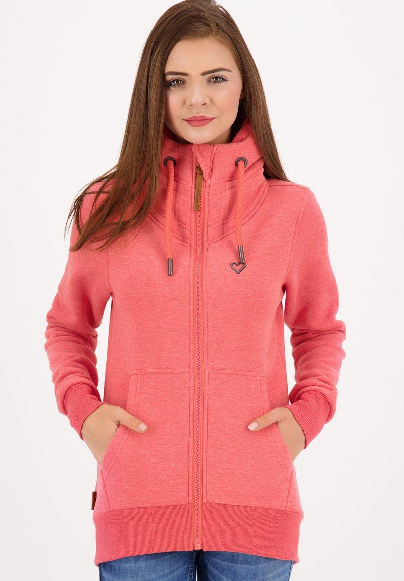 alife & kickin - VIVIANAK - Zip-up hoodie - candy