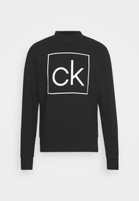 BOX MOCK NECK - Sweatshirt - black