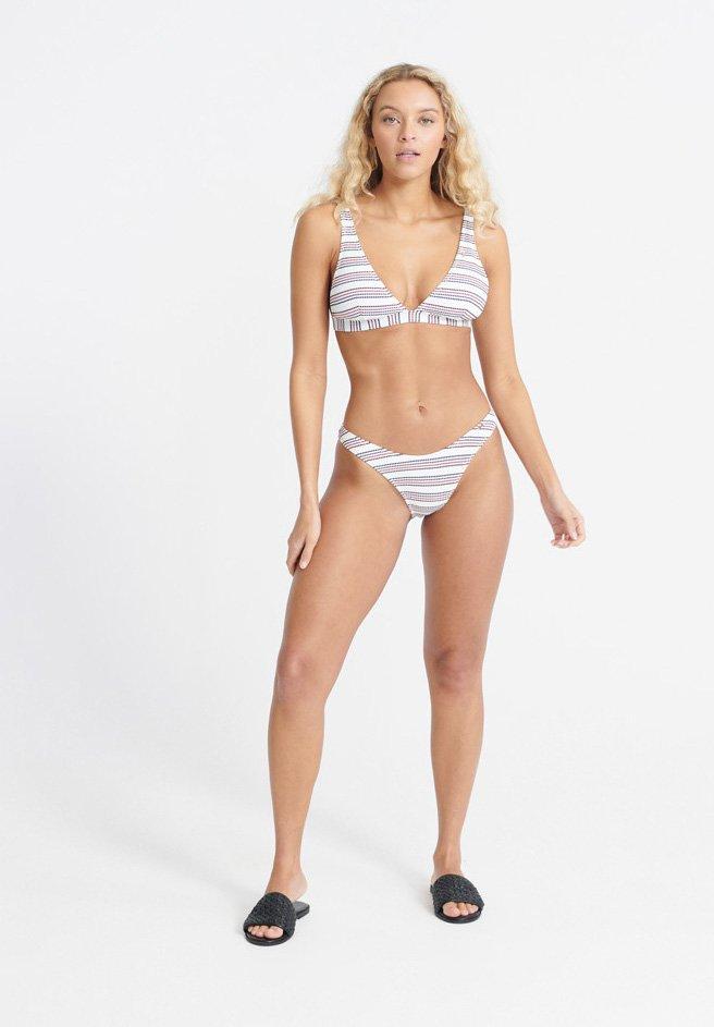 Women SUPERDRY EDIT STRIPE BIKINI BOTTOM - Bikini bottoms