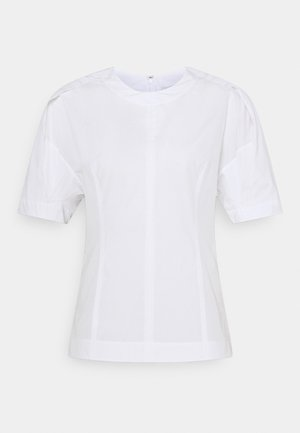 BACK ZIP - Blouse - optic white