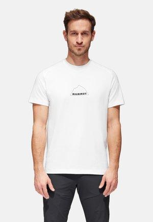 TROVAT  - Print T-shirt - white prt