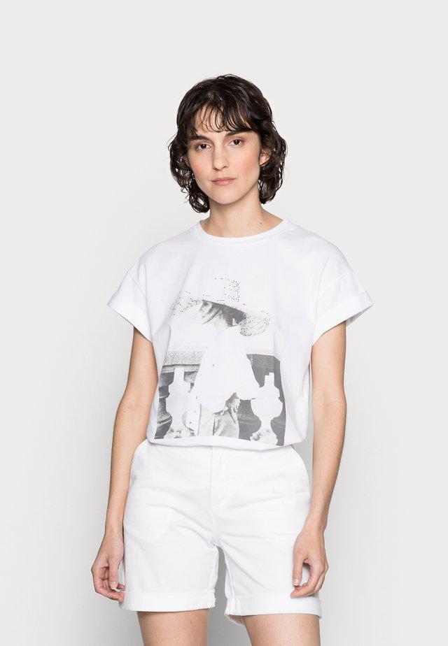 T-SHIRT WITH PRINT - T-shirts print - white
