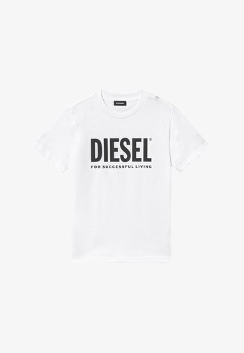 LOGO MAGLIETTA UNISEX - Print T-shirt - bianco